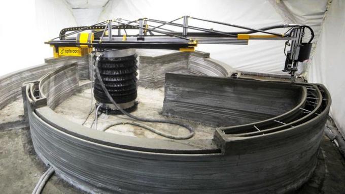 Máy in 3D bê tông