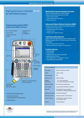 Bộ điều khiển robot Yaskawa DX100
