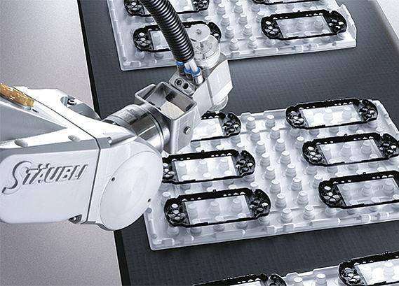 Robot ứng dụng cho ngành nhựa