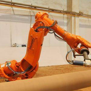 Robot ABB trong sản xuất gỗ