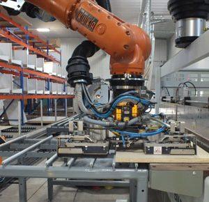 Robot Kuka trong sản xuất gỗ