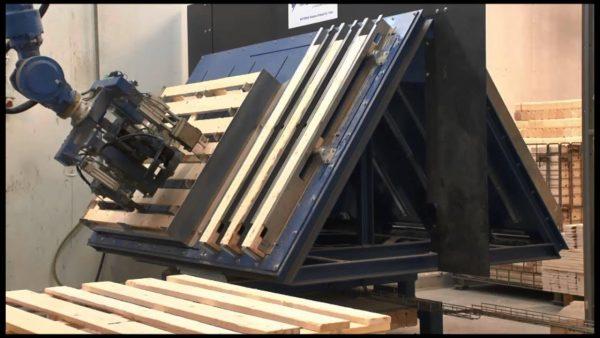 Robot yaskawa cho nghành chế biến gỗ
