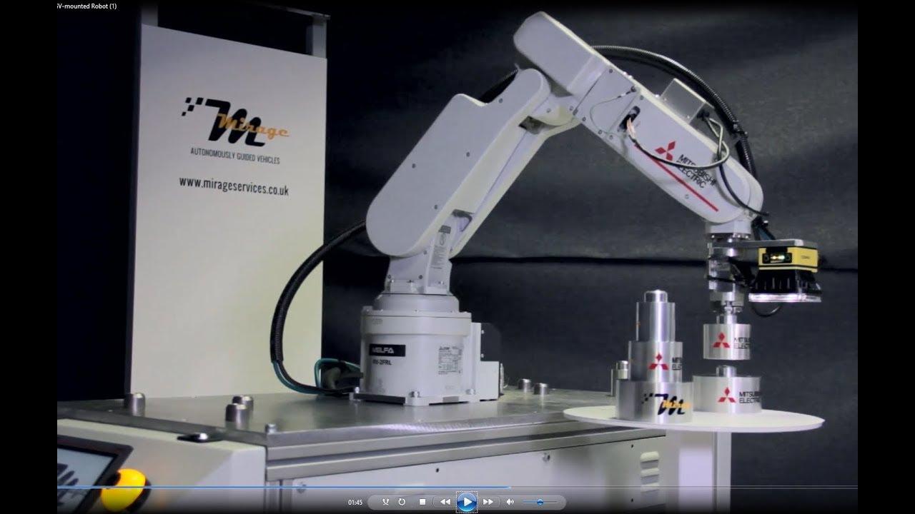 Robot Mitsubishi được sử dụng để phát triển robot mới