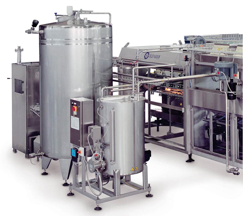 Dây chuyền sản xuất nước lavie Bồn chứa nước