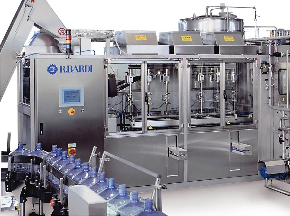Dây chuyền sản xuất nước lavie Máy chiết bình 1000 Class Filler