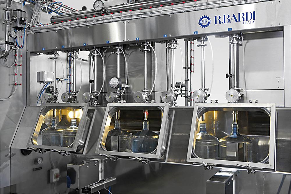 Dây chuyền sản xuất nước lavie Máy chiết bình Ultra Class Filler
