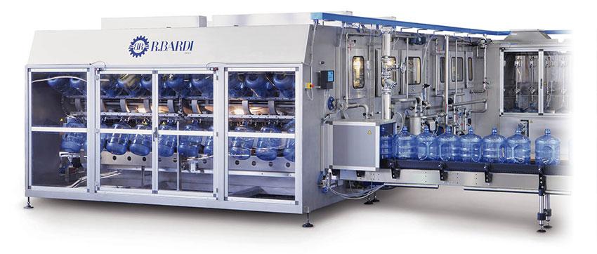 Dây chuyền sản xuất nước lavie - Máy rửa