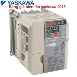 Bảng giá biến tần yaskawa 2018
