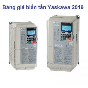 Bảng giá biến tần yaskawa 2019