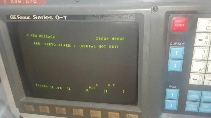 Bảng mã lỗi bộ điều khiển Fanuc
