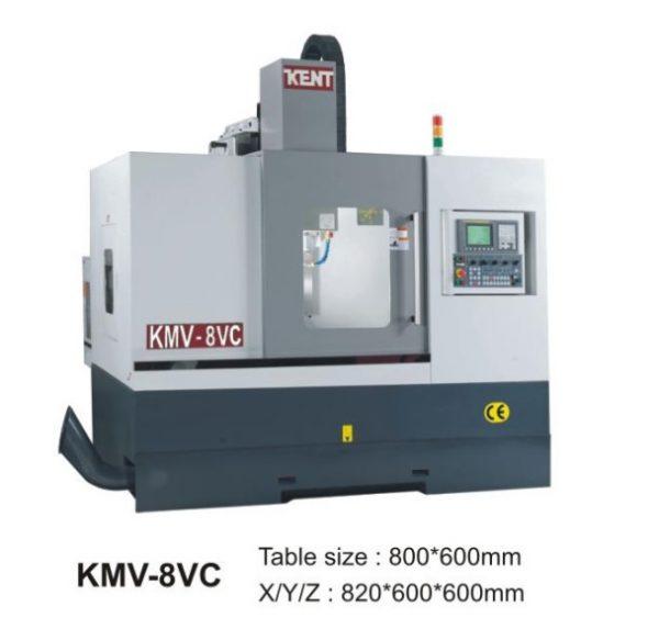 Máy phay CNC KMV 8VC Kent