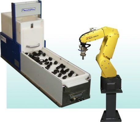 Robot cấp phôi tự động cho máy công cụ