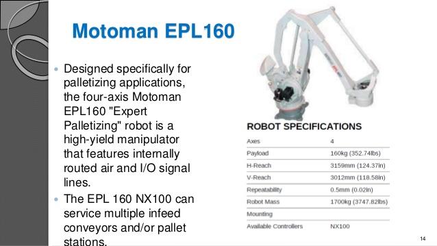 Motoman EPL160
