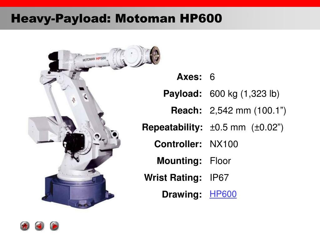 Robot Yaskawa Motoman HP600