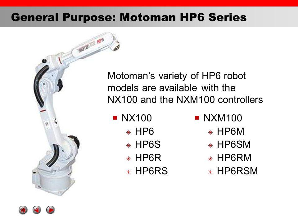 Robot Yaskawa Motoman HP6R