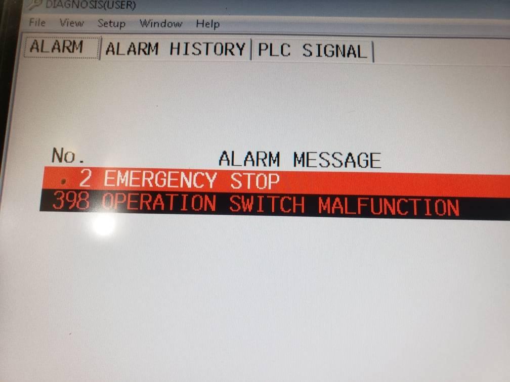 Lỗi máy CNC Mazak - Lỗi PLC mazak - Mazak PLC Alarm List